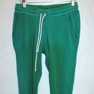Cotton Citizen Waffle Green Skinny Cuff Jogger (S)